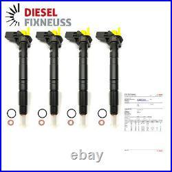 03L130277 0445116030 4x Injecteur Injecteur Audi VW Seat Skoda 2,0 Tdi