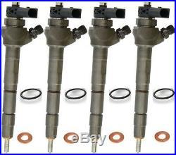 4X Injecteur 2.0 Tdi Audi VW 0445110369 Cff Cfh Cfg