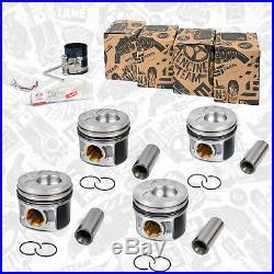4x Piston Réparation VW Audi Skoda Seat 2,0 Tdi Bmm 038107065HE 038107065HL