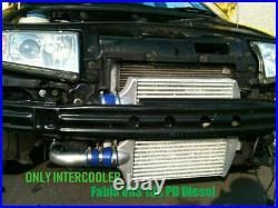 Aluminum Intercooler Pour Skoda Fabia VRS Seat Sport VW Polo 1.9TDI Diesel 130PD