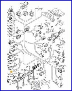Neuf D'Origine VW Audi Seat Skoda 2.0TDI Pd Pompe Duse Injecteur Harnais Câblage