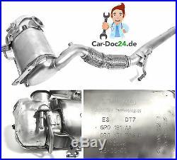 Original Filtres à Particules Diesel FAP Audi VW Skoda 1,6 Tdi, 75 90 105 Ch
