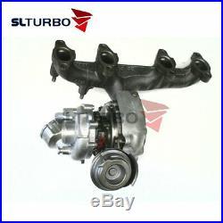 Turbocompresseur 765261 Audi A3 2.0 TDI 8P PA BMP BMM 103KW full turbo 756867