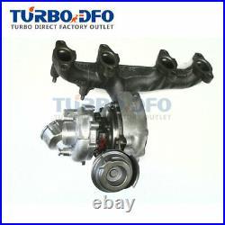 Turbolader complete full turbo for Seat Altea Leon Toledo III 2.0 TDI BMM 140 CV