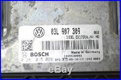 VW Passat cc 2.0 Tdi 2009 RHD Moteur ECU Module de Contrôle 03L907309